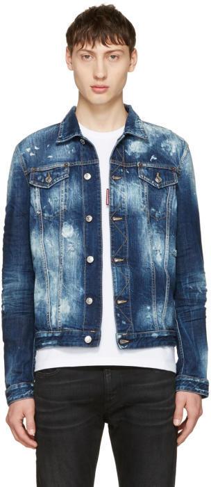DSQUARED2 Blue Denim Jacket