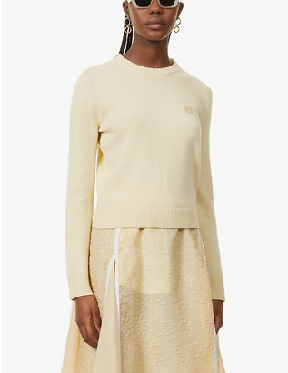 Loewe Anagram-embroidered wool jumper