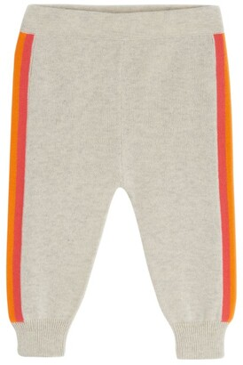 The Bonnie Mob Side-Stripe Knitted Sweatpants (3-24 Months)