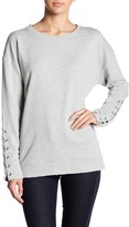 Joe's Jeans French Terry Lace Up Sweatshirt