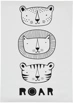 A LITTLE LOVELY COMPANY Cat Poster
