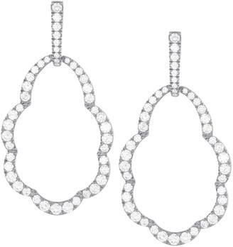 Hearts On Fire 18K 3.48 Ct. Tw. Diamond Lorelei Open Earrings