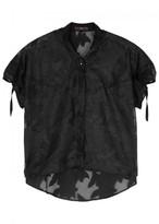 High Pilot Black Fil Coupé Shirt