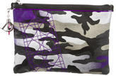 Christian Dior Anselm Reyle Neon Camouflage Clutch