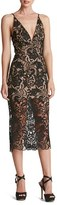 Women's Dress The Population 'Marie' Lace Midi Dress