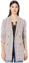 Lost + Wander LOST + WANDER Sweet Melody Jacket (Multi Plaid) Women's Clothing