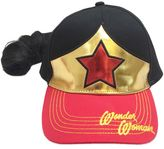 Bed Bath & Beyond Wonder Woman Baseball Cap with Faux Ponytail