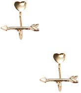 Shashi Heart & Arrow Ear Jacket