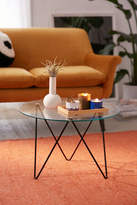 Urban Outfitters Anderson Glass Coffee Table