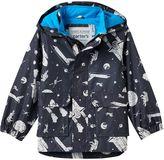 Carter's Toddler Boy Spaceship Astronaut Hooded Rain Coat