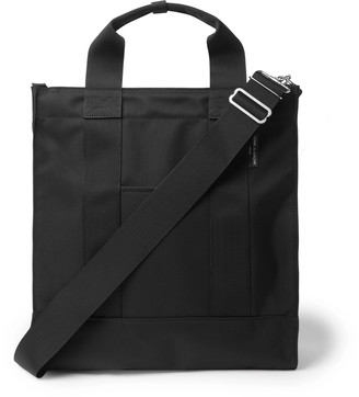 Webbing-Trimmed Canvas Tote