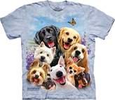 The Mountain Dog Selfie Adult T-Shirt Tee
