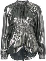Ellery metallic blouse - women - Silk/Polyester - 8