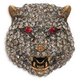 Gucci Feline Crystal Brooch