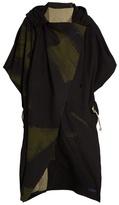 YOHJI YAMAMOTO REGULATION Wool-blend hooded cape