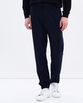Armani Collezioni Stretch Techno Plain Weave Trousers