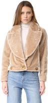 Intropia Faux Fur Jacket