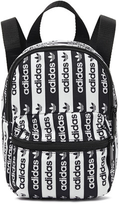 adidas Logo-print Canvas Backpack