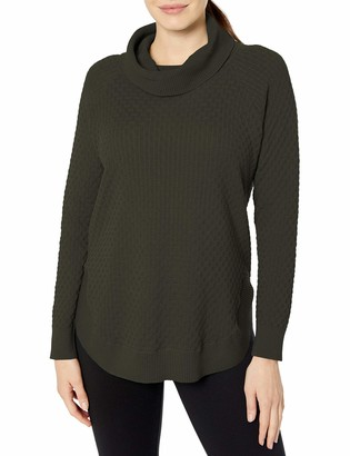 Chaus Women's Long Sleeve Cowl Neck Sweater