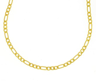 Ottoman Hands Short Gold Figaro Chain