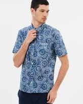 Topman Circle Short Sleeve Shirt