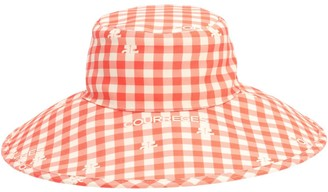 Courreges Printed Bucket Hat