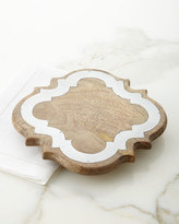 GG Collection G G Collection Ogee Wood & Metal Trivet