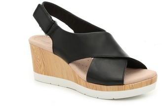 Clarks Cammy Pearl Wedge Sandal