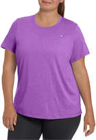Champion Short Sleeve Crew Neck T-Shirt-Womens Plus