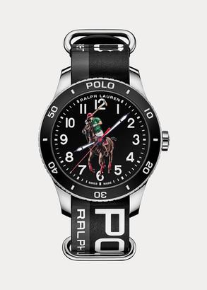 Ralph Lauren Polo Sport Watch Black Dial