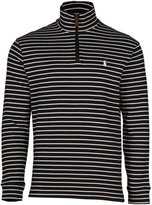 Polo Ralph Lauren Men's Half Zip Ribbed Mock Neck Sweater (XL, /White)