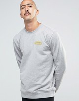 Patagonia Sweatshirt With Chest Logo In Regular Fit Grey