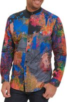 Robert Graham Limited Edition Zucker Embroidered Shirt, Multicolor