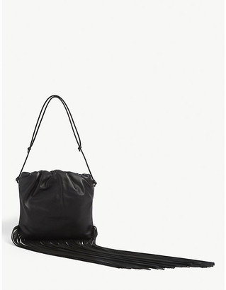 Bottega Veneta Fringed leather shoulder bag