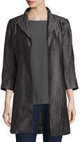Eileen Fisher Silk Groove Dressy Jacket