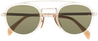 David Beckham Round-Frame Sunglasses