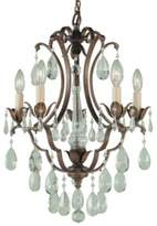 Feiss Maison Deville 5-Light Mini Duo Chandelier