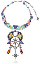 Roberto Cavalli Ethnic Statement Choker Necklace