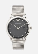 Emporio Armani Man Three-Hands Stainless Steel Watch