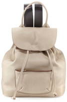 Elizabeth and James Langley Leather Backpack, Bone