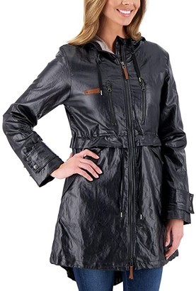 Obermeyer Emmie Trench (Black) Women's Clothing