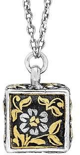 Lois Hill Journey 24k & Silver Floral Necklace