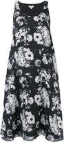Kenzo floral shift dress - women - Silk/Polyester - 36