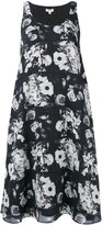 Kenzo floral shift dress - women - Silk/Polyester - 38