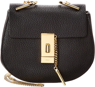 Chloé Drew Mini Leather Shoulder Bag