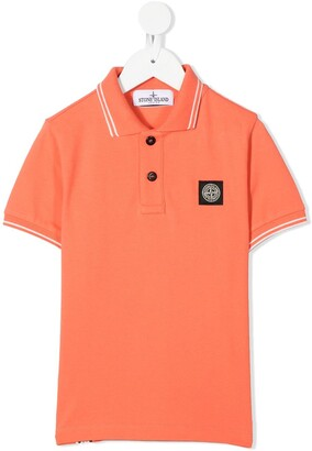 Stone Island Junior Pique Polo Shirt