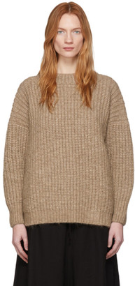 LAUREN MANOOGIAN Brown Fisherwoman Sweater