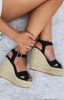 Tony Bianco Boston Wedge Black