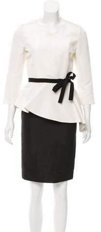 Andrew Gn Silk Knee-Length Dress