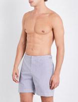 Orlebar Brown Striped seersucker woven shorts